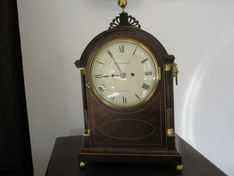 Bracket Clocks Circa 1780 William Carpenter Repeat Strike Fusee Bracket image #1