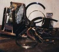 Antique Clock Before Restoration