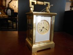 Carriage Clocks Early 19th Century Repeating Carriage Strike image #1