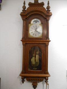 Wall  Clocks Beautiful Edwardian Moon Phase Strike Vienna image #1