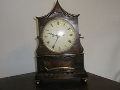 Bracket Clocks 18th Century Ellicott of London Eight Day Fusee Strike Bracket  image #1