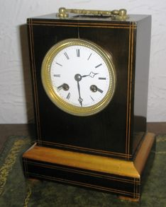 Mantel Clocks 19th Century French Eight Day Strike Mantel image #1