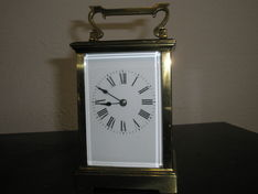 Carriage Clocks Carriage Clock 19th Century French Eight Day Hour Strike image #1