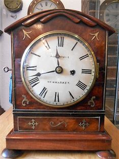 Bracket Clocks Beautiful George III Fusee Timepiece image #1