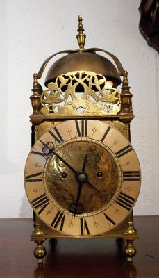 Mantel Clocks John Walker Double Fusee Lantern Clock image #1