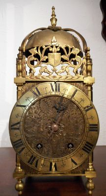 Mantel Clocks  Brass Lantern Clock Striking hours image #1
