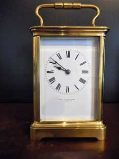 Carriage Clocks Late 19th Century French Carriage Timepiece image #1