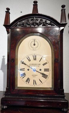 Bracket Clocks 18th Century James McCabe - Royal Exchange, London image #1